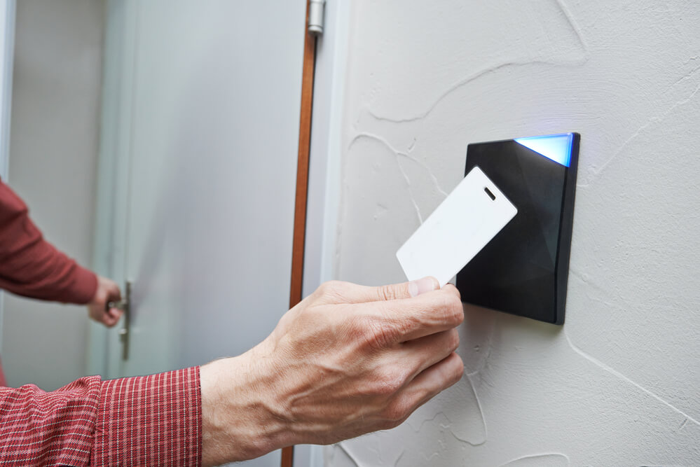 Cartões de acesso de segurança